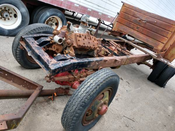 Photo Ford Marmon Herrington 1946 4wd 1-12 ton Chassis 4x4 Flathead 1947 - $2,750 (WILMINGTON)