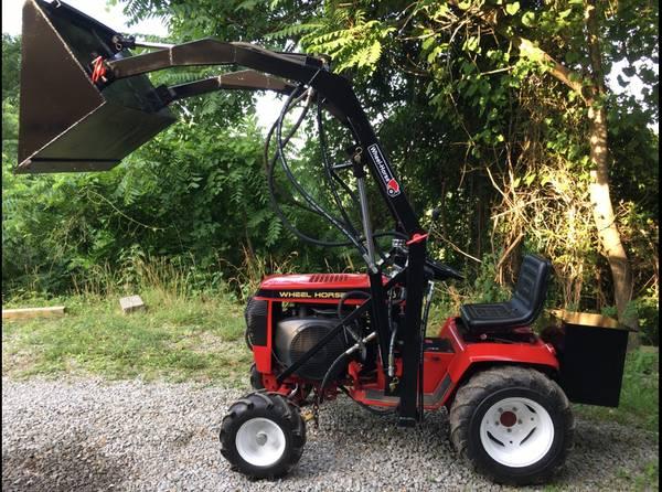 Photo Garden Tractor  Loader - $3,500 (Monroeville area)