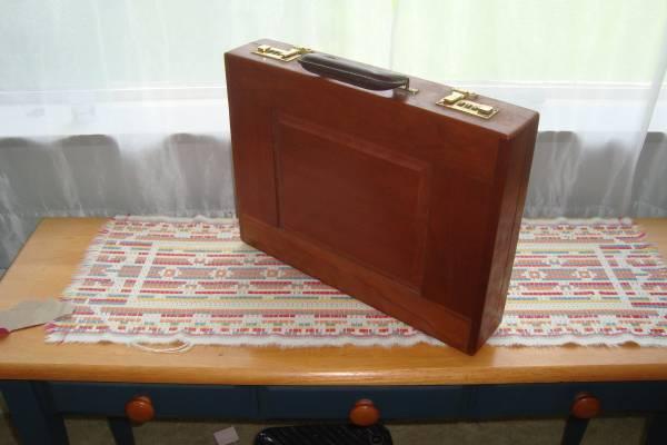Photo Gerstner Sons Cherry Wood Briefcase (murrysville)