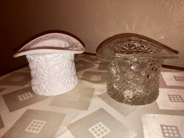 Photo Glass Top Hats-Fenton - $10 (Ross Township)