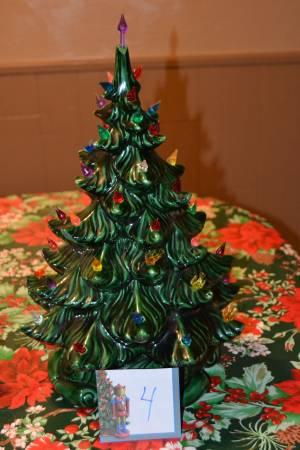 Photo Green light up Ceramic Christmas Tree Atlantic Mold - $60 (Sarver)