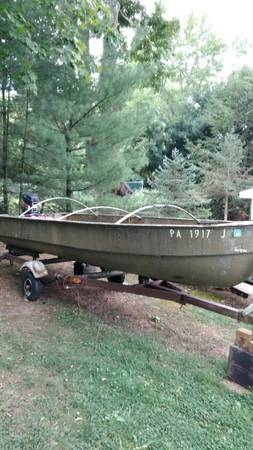 Photo Heavy Duty Fishing Boat - $1,200 (Greensburg)