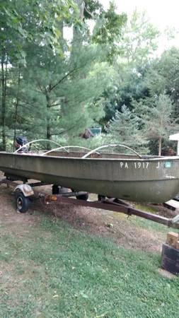 Photo Heavy Duty Fishing Boat - $1,200 (Greensburg)