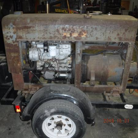 Photo Lincoln SA-200 Red Face Weld Machine (Belmont)