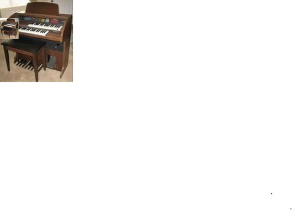 Photo Lowrey Organ ((Ross Township  West View))
