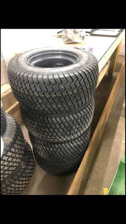 Photo New Kubota Wheels 5 Lug for RTV Models Tires Rims Set of 4 - $250 (Saxonburg)