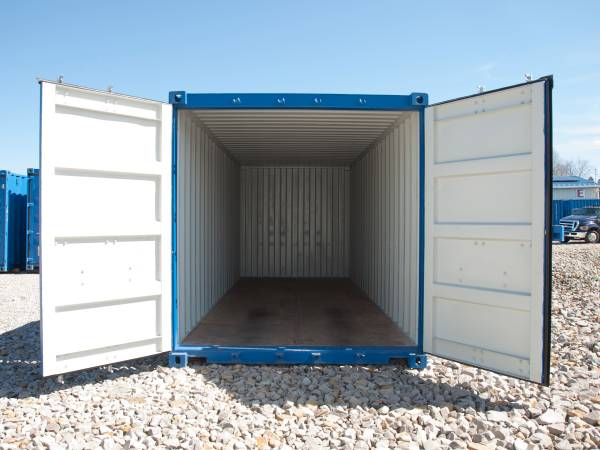 Photo New Shipping Containers Used One Time (Mt.Pleasant Pa.)
