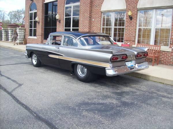 Photo Nice Fully Tubbed Pro-Street 1958 Ford Custom 300 - $18950 (Farmington Hills, Michigan)