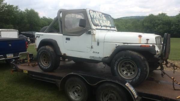 Photo Parting out 1991 Jeep Wrangler YJ 4 cyl 5 speed - $1 (Seward)
