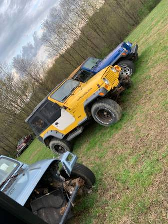 Photo Parting out 1999 Jeep Wrangler 4.0 auto - $1 (Seward)