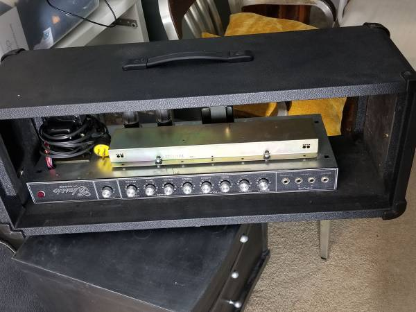 Photo Peavey Classic VT series 100 tube  chassis - $200 (Rural Ridge)