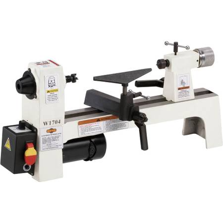 Photo SHOP FOX W1704 8quot X 13quot BENCH-TOP WOOD LATHE-GREAT SMALL PROJECT LATHE - $245 (Beaver Falls)