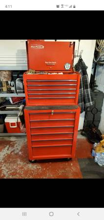 Photo Snap On Blue Point Tool Box - $550 (Greensburg)