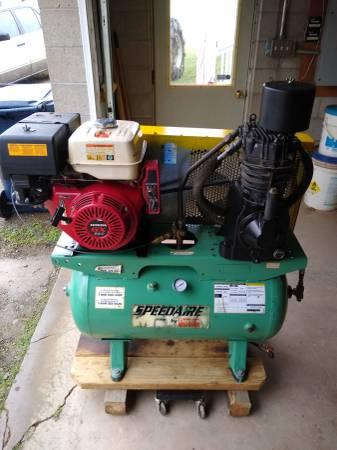 Photo Speedaire Gas Air Compressor - $975 (Wattsburg, PA)