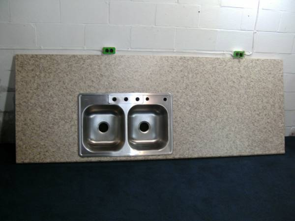 Photo Stainless Steel Sink Countertop NEW - $55 (Rt. 65 Ambridge Area)