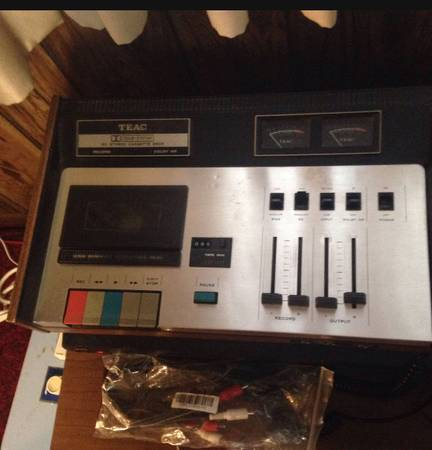 Photo Teac 160  Realistic SCP-3 Stereo Cassette Deck (Ross)