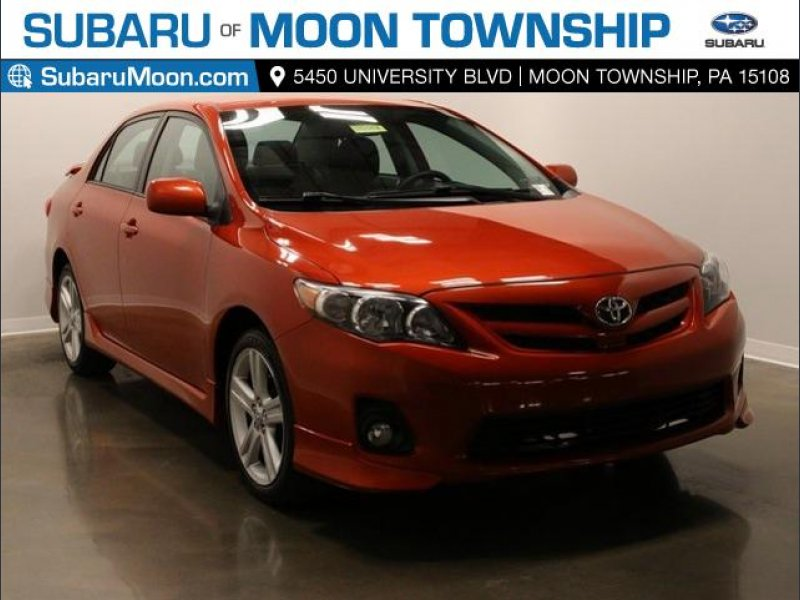 Photo Used 2013 Toyota Corolla S Special Edition for sale