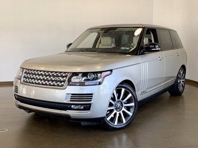 Photo Used 2015 Land Rover Range Rover Long Wheelbase Autobiography for sale