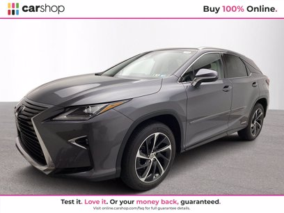 Photo Used 2017 Lexus RX 450h AWD w Luxury Package for sale