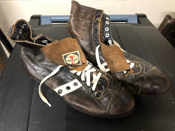 Photo Vintage Spot Bilt Leather Football Cleats - $65 (Ross Township)