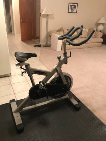 Photo Vision Fitness ES700 Spinning Bike - $550 (Moon Twp.)
