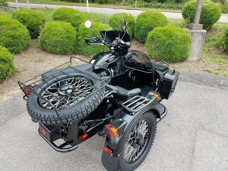 Photo 2021 Ural Gear Up - Flat Black Off-Road