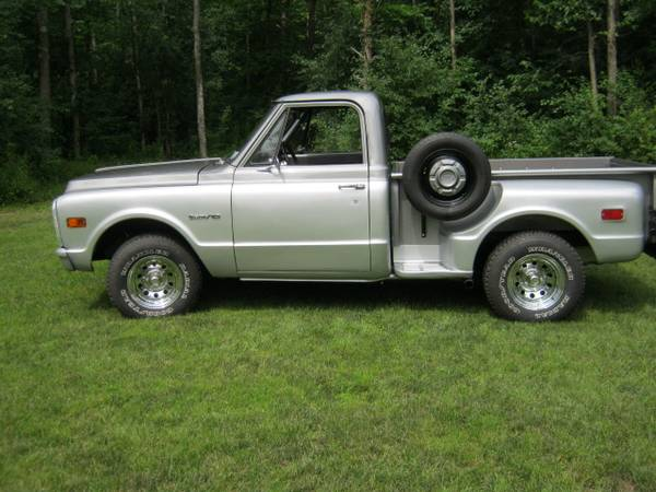 Photo 1971 Chevy C10 Short bed Step side - $28,000 (Chazy)