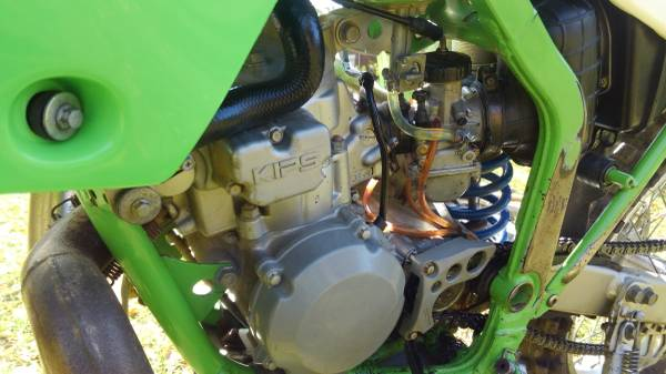 Photo 2001 Kawasaki KDX 220R $2800 OBO - $2,800 (Plattsburgh)