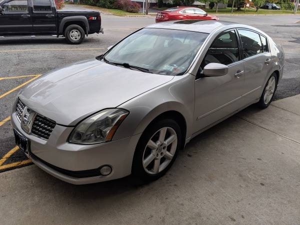 Photo 2004 Nissan Maxima - $3,500 (Plattsburgh)