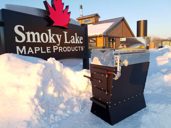 Photo Maple Syrup Evaporator, firebox AND pan system, V3 - $999 (Free Delivery to your Door)