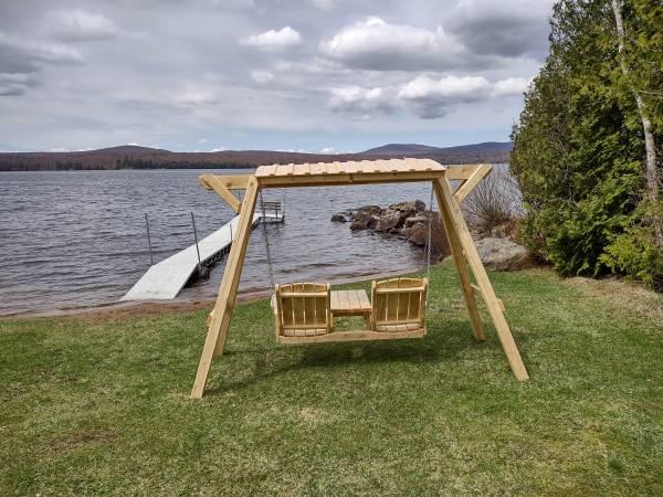 Photo Outdoor Cedar Furniture - $1 (lyon Mtn)
