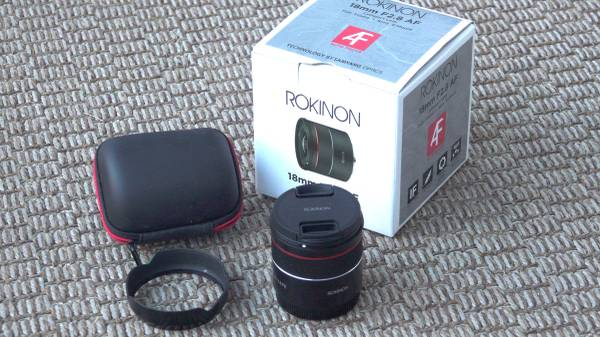 Photo Rokinon AF 18mm f2.8 FE Lens SonyE - $175 (Concord NH)