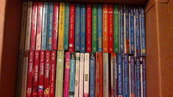 Photo Romance paperbacks (Concord,NH)