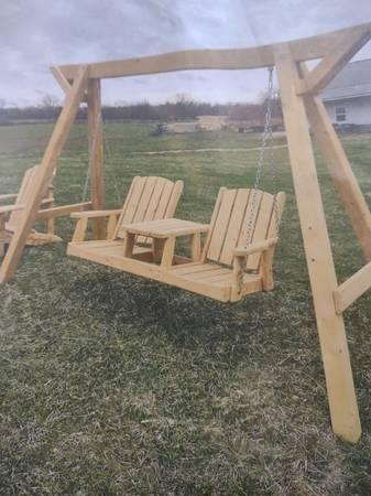 Photo Rustic Sheds, Furniture, Swing sets (Gabriel39s)