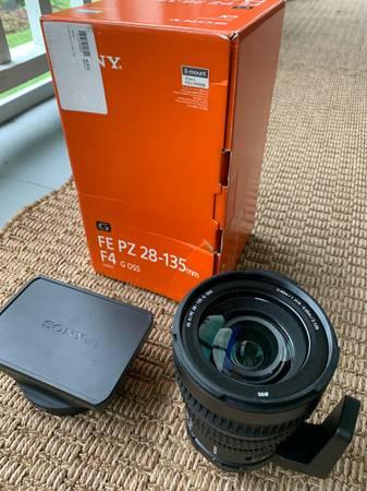 Photo Sony FE PZ 26-135 F4 Cinema Lens - $1,600 (Concord NH 03301)