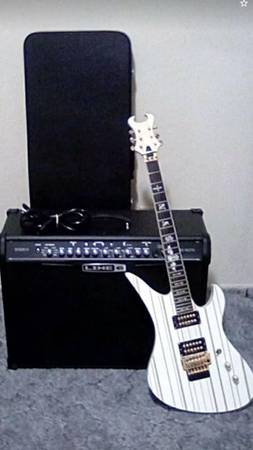 Photo Spider IV 150  and Schecter Synyster Custom guitar - $900 (Plattsburgh)