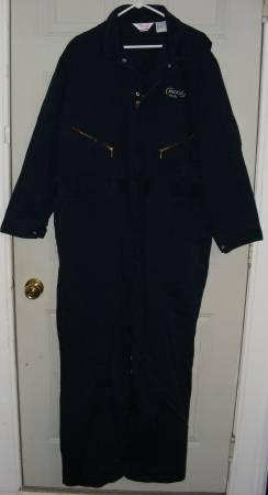 Photo WALLS FULL COVERALLS NAVY BLUE WORK CLOTHES MENS 50 REGULAR NICE - $25 (Plattsburgh, NY)
