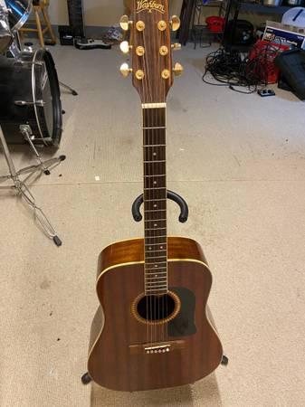 Photo Washburn D-100M acoustic guitar Mahogany - $150 (Milan)