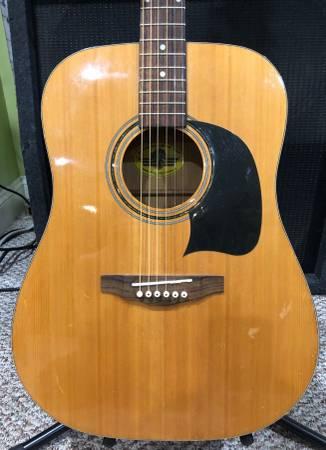 Photo Washburn Lyon Acoustic Guitar - $95 (Windham, NH)