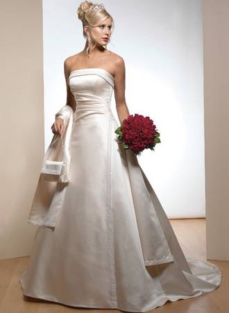 Photo Wedding Dress - Maggie Sottero - size 16 - $350 (Peru, NY)