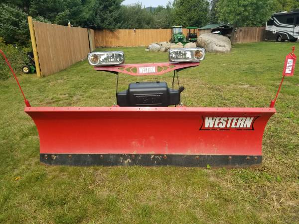 Photo Western Snow Plow for sale - $2,500 (Lake Placid)