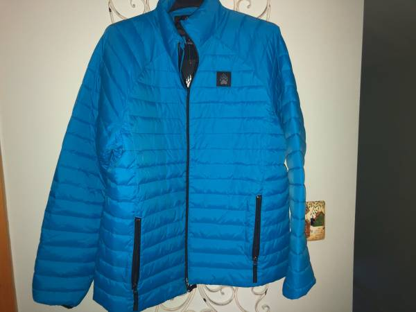 Photo mens large Duluth Trading quotEco PuffinquotJacket ...NEW - $60 (Plattsburgh)