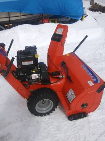 Photo simplicity snow blower - $1,300 (witherbee)