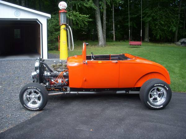 Photo 1929 Ford Model A HiBoy Roadster - $32,500 (Tannersville)
