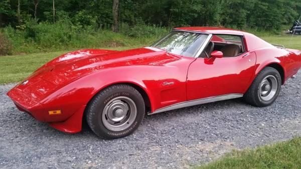 Photo 1974 Chevrolet Corvette Stingray - $10500 (Stroudsburg)