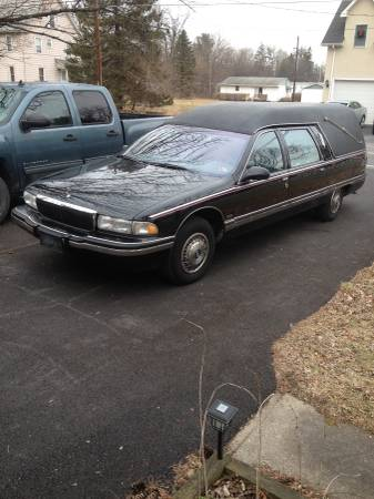 Photo 1995 buick hearse (roadmaster) - $3000 (stroudsburg)