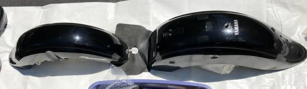 Photo 2004 Vstar 650 front and rear fender - $350 (White Haven)