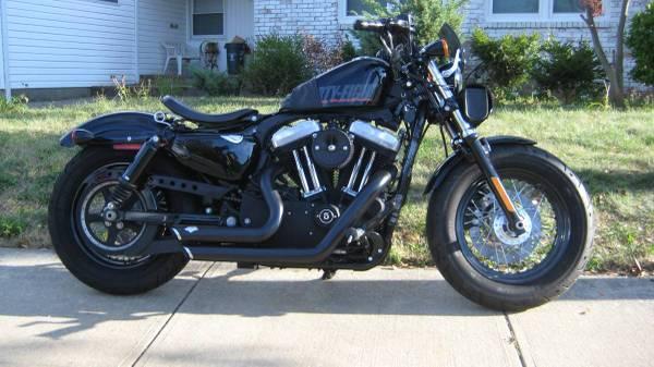 Photo 2012 Harley Davidson XL 1200 Sportster 48 - 5K miles - $8,500 (palisades park)