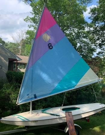 Photo AMF Sunfish Sailboat - $800 (Wayne, NJ)