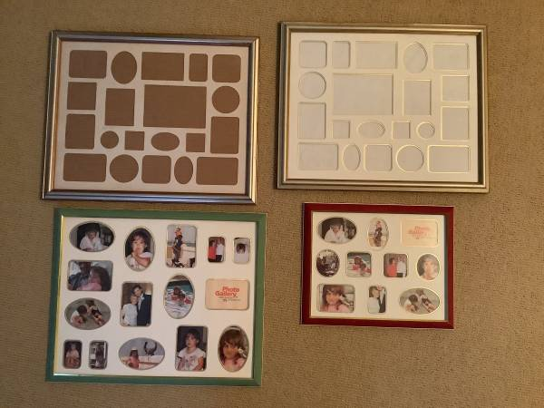 Photo Assorted collage picture frames - $5 (Fairfield)
